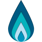Firetap Logomark Blue Flame