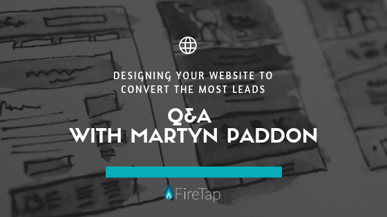 Website Design Q&A with Martyn Paddon